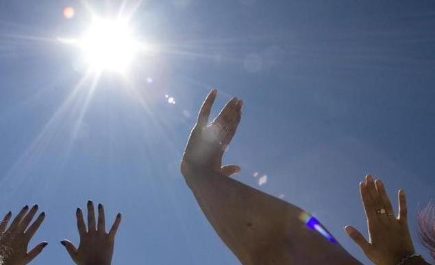 Radiación solar muy alta en el Valle de México