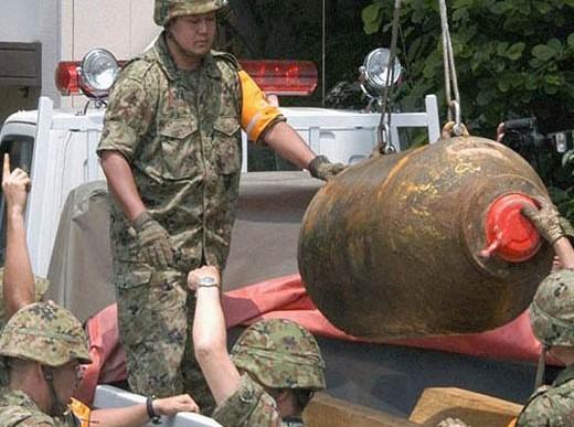 Encuentran una bomba de la Segunda Guerra Mundial en Hong Kong