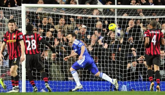 El Chelsea frena al Manchester City