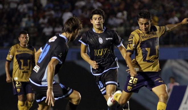 Va Pumas ante Mérida en Copa MX
