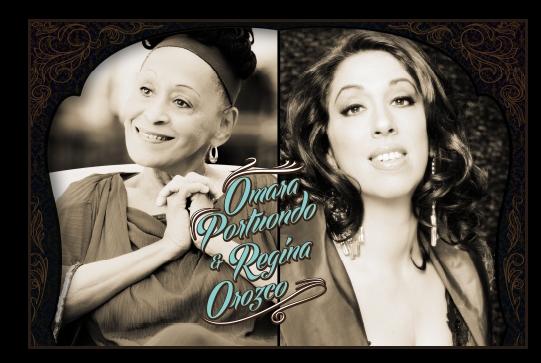 """Omara Portuondo y Regina Orozco compartirán """"Pedazos del corazón"""""""