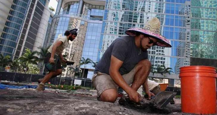 Una aldea de 4000 años aparece en Miami