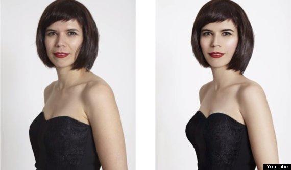 «El ideal no existe»: La reacción de 4 mujeres retocadas con Photoshop