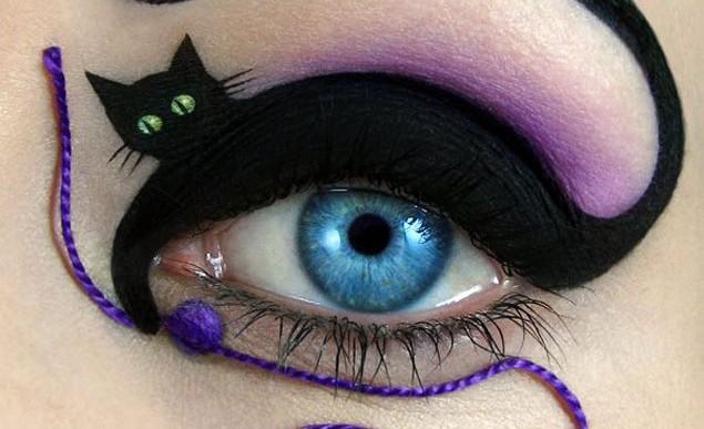 Eye art: la última locura en maquillaje