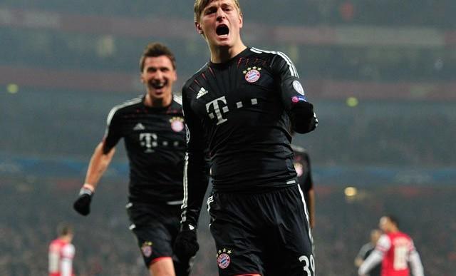 Bayern Munich jugará contra Arsenal en Champions
