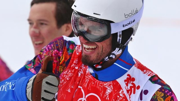 Pierre Vaultier gana oro en snowboard cross de Sochi