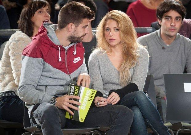 Piqué es celoso y territorial: Shakira
