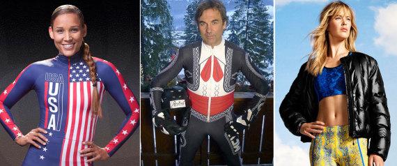 Los uniformes más extraños de Sochi 2014