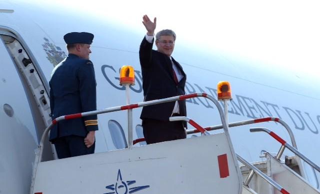 Peña Nieto da bienvenida al primer ministro de Canadá