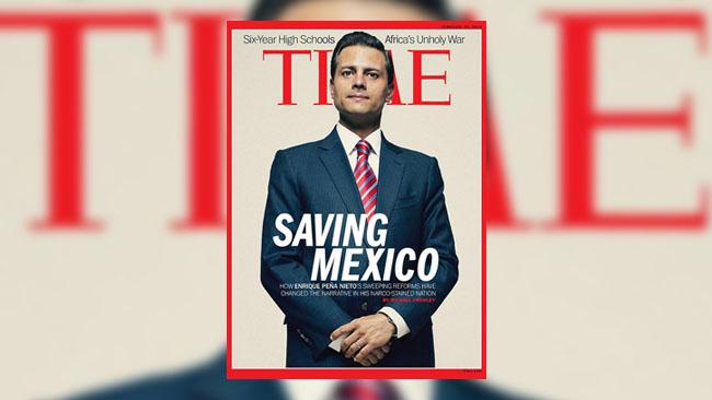 La revista Time causa polémica con una portada de Peña Nieto