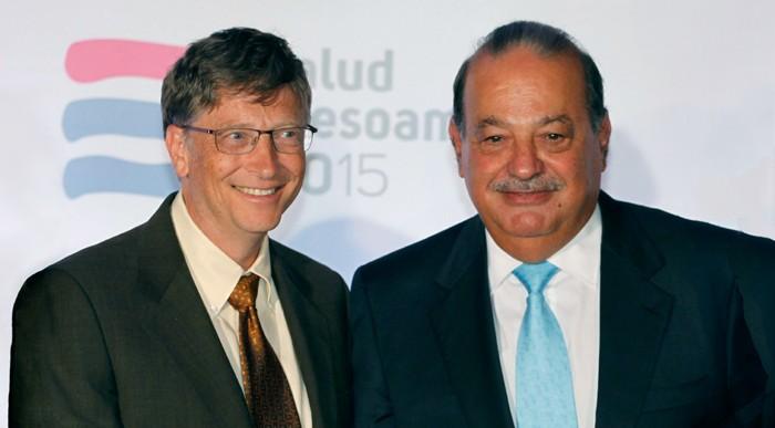 Bill Gates destrona a Slim como la persona más rica del mundo