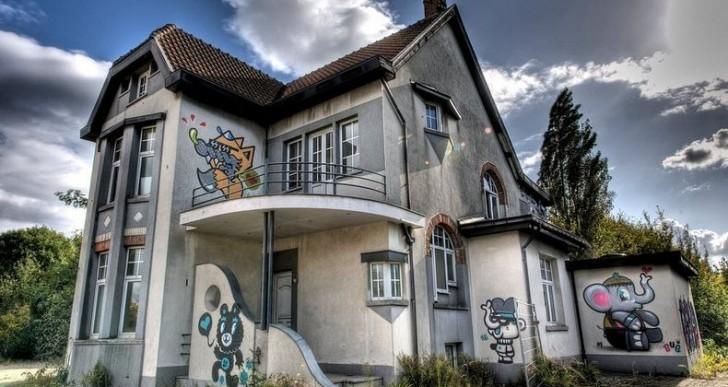 Doel, la ciudad fantasma que sólo sobrevive de street art