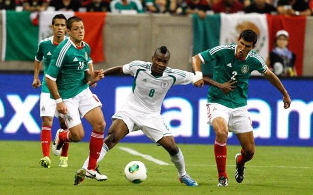 México enfrenta a Nigeria en fecha FIFA