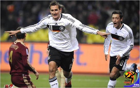 Klose quiere superar a Ronaldo como goleador en mundiales