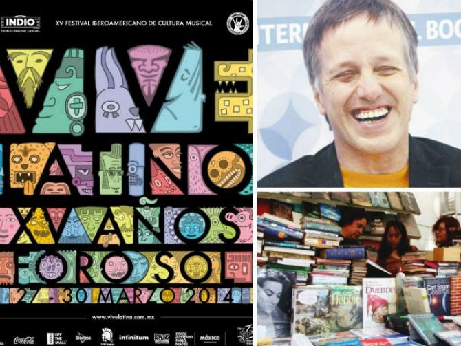 Música y literatura convivirán en el Vive Latino 2014