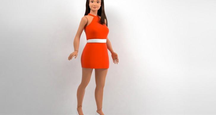 'Anti Barbie', una muñeca con proporciones y curvas reales