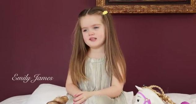 Lo que una niña de 3 años hizo por los niños con cáncer
