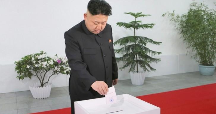 Kim Jong Un consigue 100% de votos en elecciones