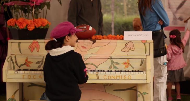 «Toca conmigo» colocará 20 pianos en las calles del DF