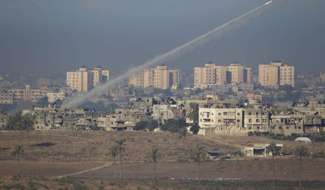 Llueven cohetes en Israel