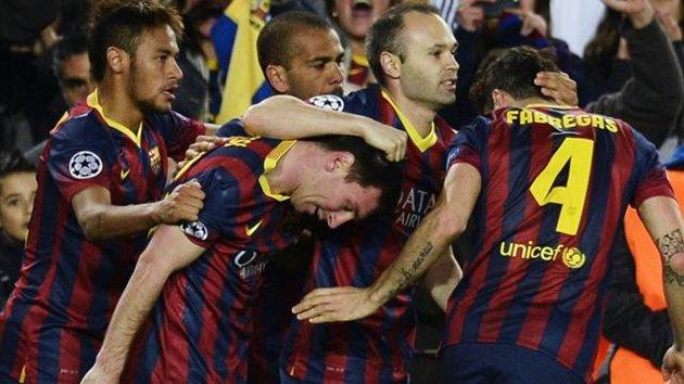 Barcelona pasa a siguiente ronda de Champions