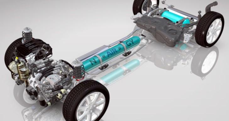 Autos que funcionan con aire como combustible