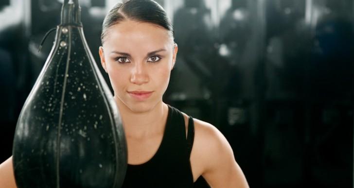 Ella quiere ser la mejor boxeadora de México