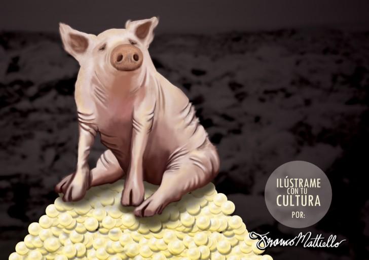 Ilústrame con tu cultura: No echeis vuestras perlas a los cerdos