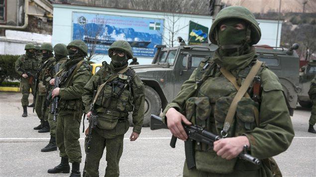 Tropas ucranianas en Crimea serán expulsadas