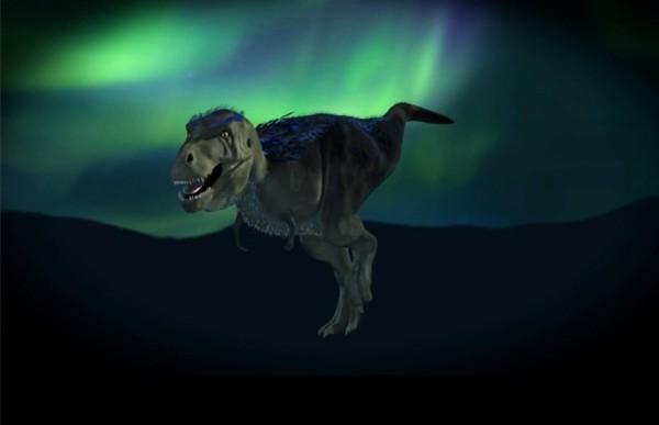 Hallan en el Ártico un diminuto primo del 'T Rex'