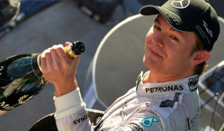Nico Rosberg consigue la primera carrera del Gran Premio de Australia