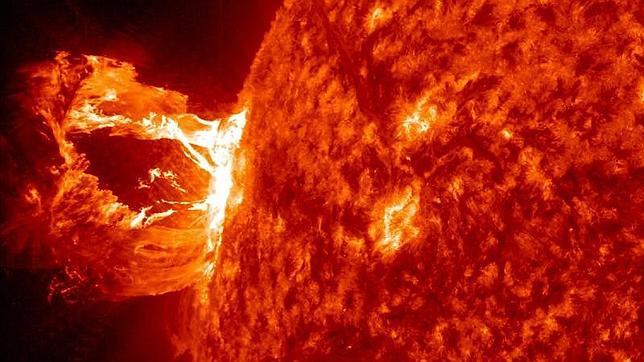 Registran una llamarada solar super intensa