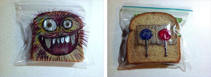 Un 'lunch' digno para una exposición artística