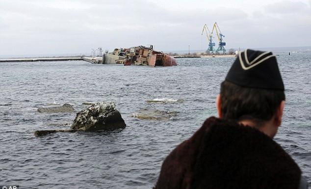 Putin esta creando una barrera en el Mar Negro