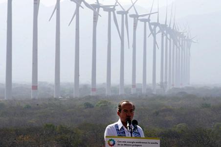 Amplían proyecto de energía eólica en Oaxaca