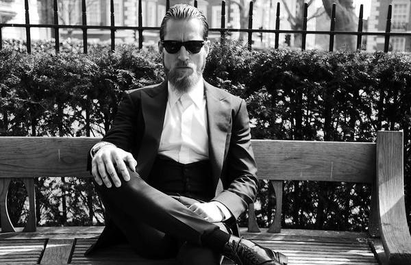 Justin O'shea, el último gentleman de la moda