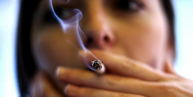 El tabaquismo causa endurecimiento de los pulmones