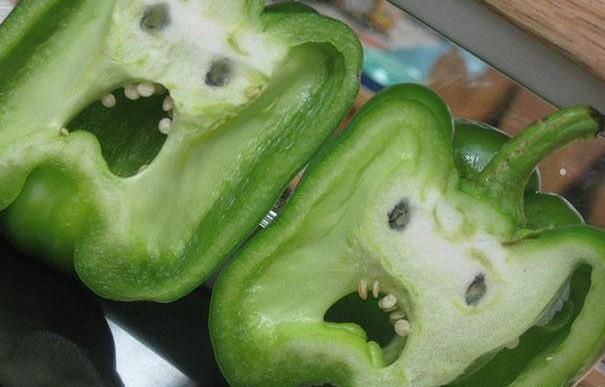 Estas frutas y verduras crecieron y se olvidaron de ser plantas