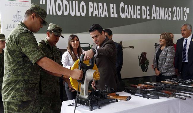 Programa de Canje de Armas en Jalisco