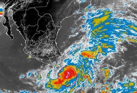 Se acerca a nuestras costas la depresión tropical 2-E