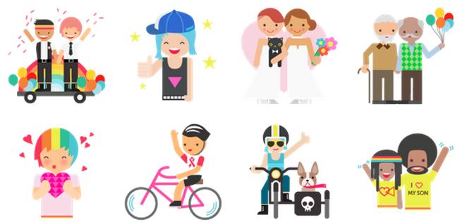 Facebook celebra el orgullo gay con 28 nuevos emoticonos