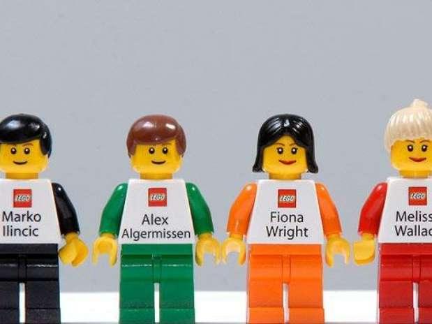 Las mejores tarjetas de presentación las tiene Lego