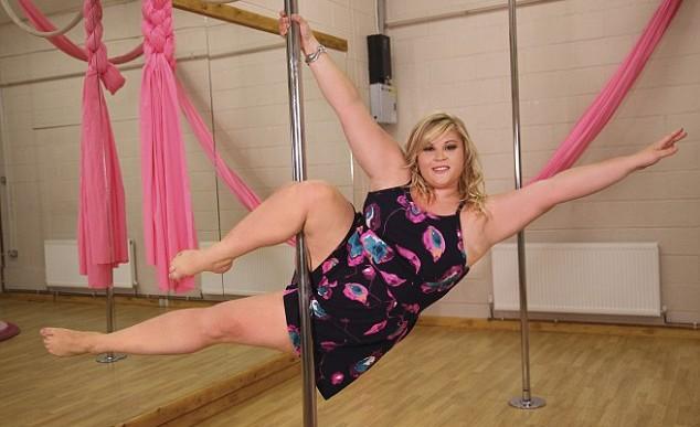 La bailarina que demostró que el peso no es impedimento para triunfar