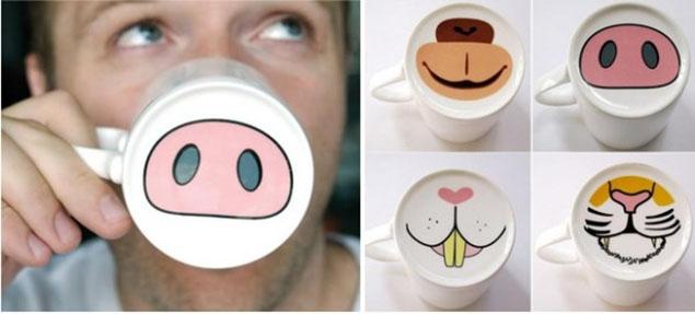 Te encantará tomar tu dosis de cafeína en estas tazas