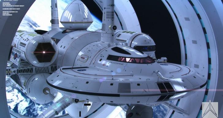 Esta es nave que viajará más rápido que la velocidad de la luz