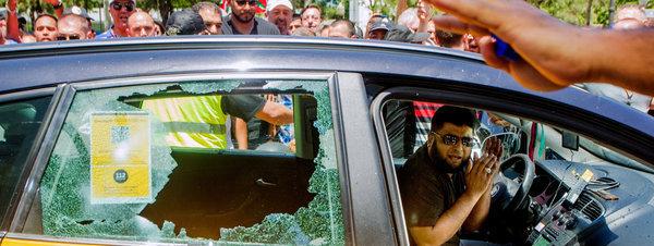 Protestas contra Uber: les sale el tiro por la culata