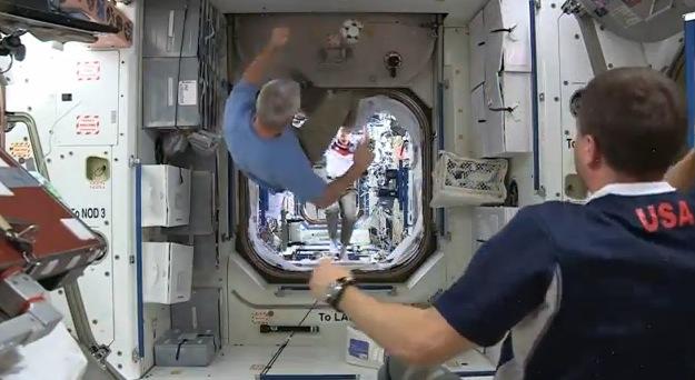 También verán el Mundial en la Estación Espacial Internacional