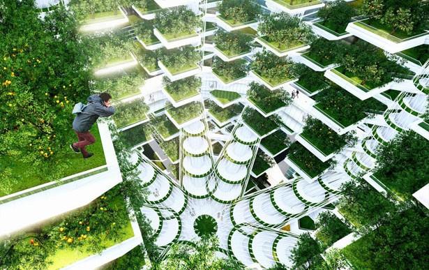 El futuro de la agricultura: granjas verticales