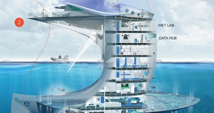 Una nave espacial para el mar