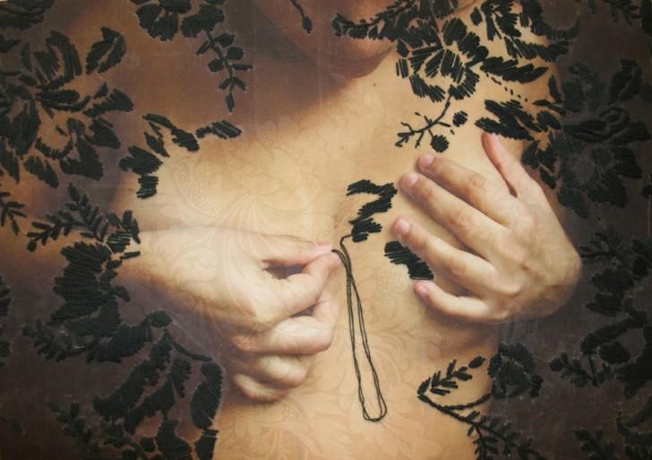 Ana Teresa Barboza y su bordados de la naturaleza